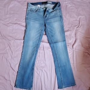 Bootcut Jean's junior size 6 reg